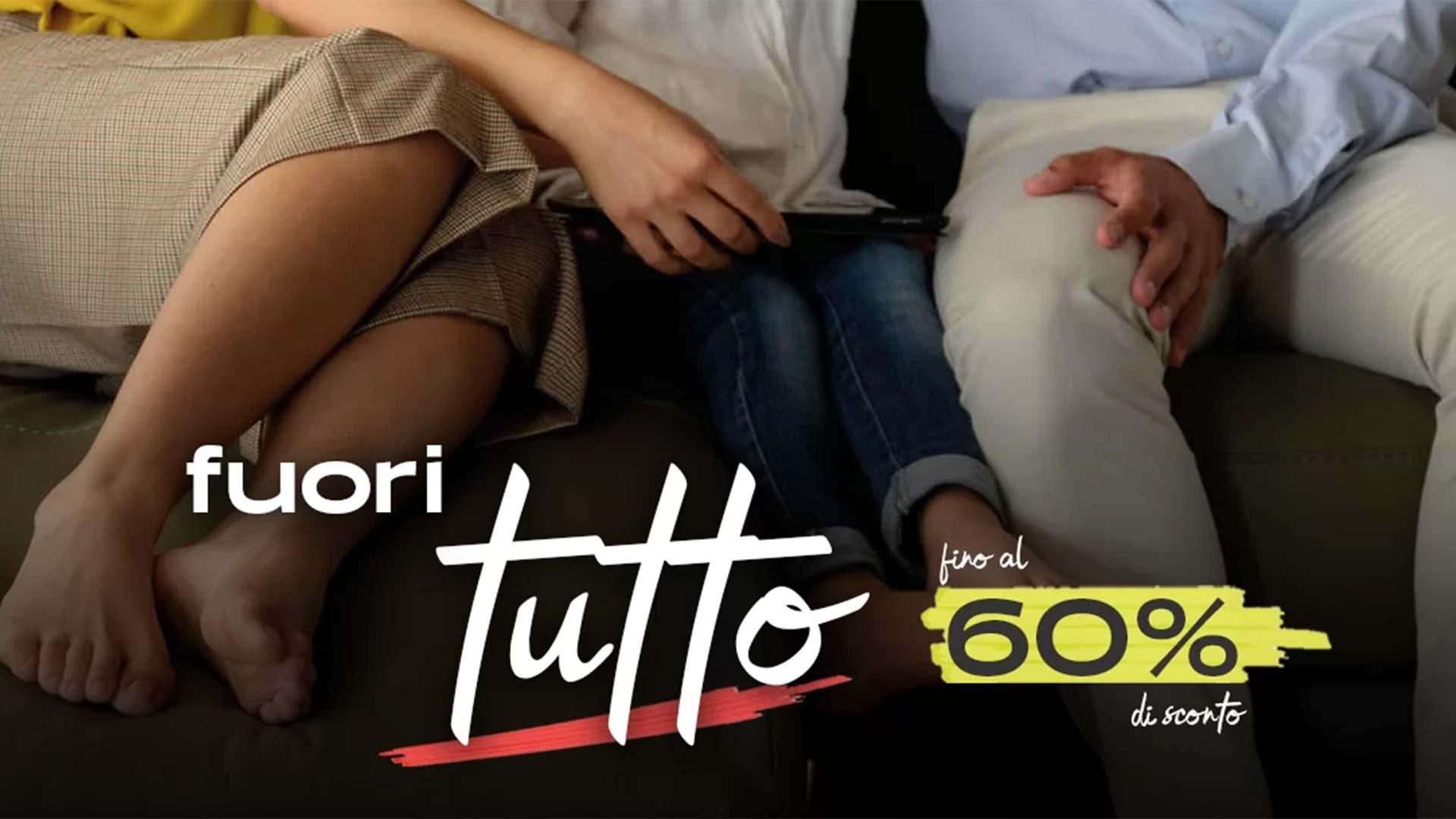 You are currently viewing Fuori Tutto! 60% di sconto sui prodotti selezionati