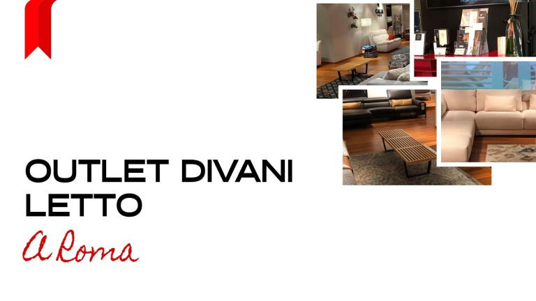Read more about the article Outlet Divani Letto a Roma
